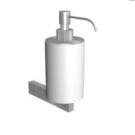 Дозатор для рідкого мила, білий/мат.хром, ANTONIO LUPI JUST14, фото 2