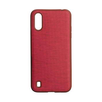 Чехол Totu Jeans для Samsung A01 SM-A015 Цвет Красный