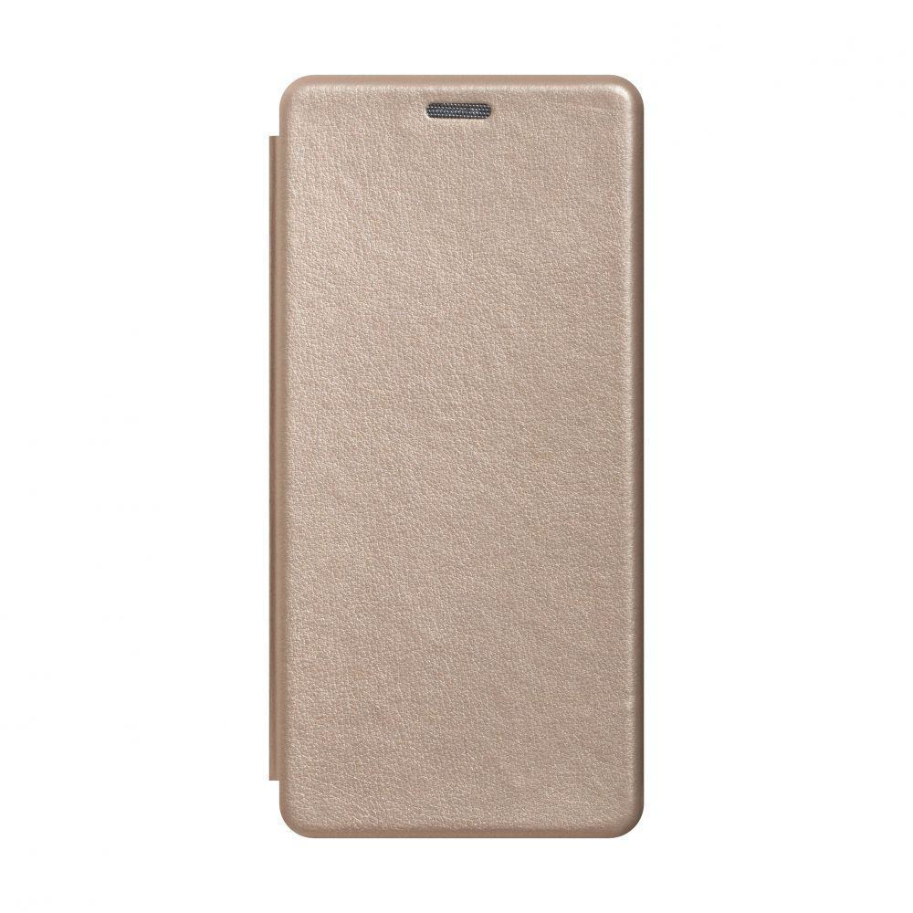 Чехол-книжка Totu Premium Edge для Xiaomi Mi 10 Lite Золотой