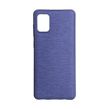 Чехол Totu Jeans для Samsung A31 SM-A315 Цвет Фиолетовый