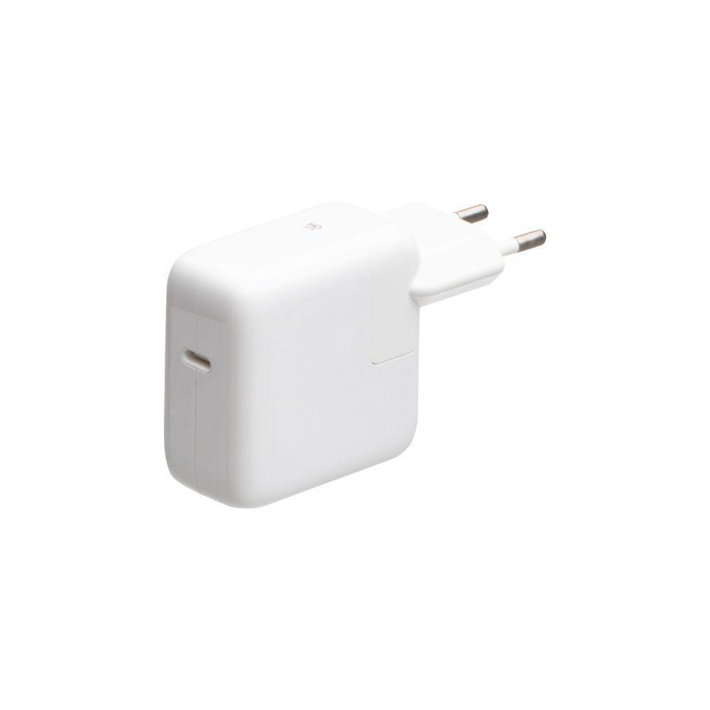Зарядное устройство Wuw 30W для Apple MacBook с кабелем Type C Белый