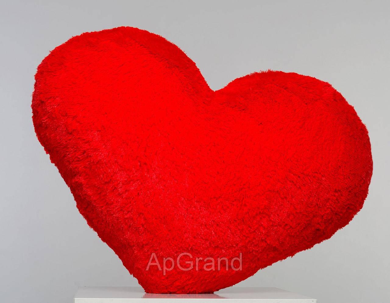Плюшева іграшка Mister Medved Подушка-серце Червона 30 см