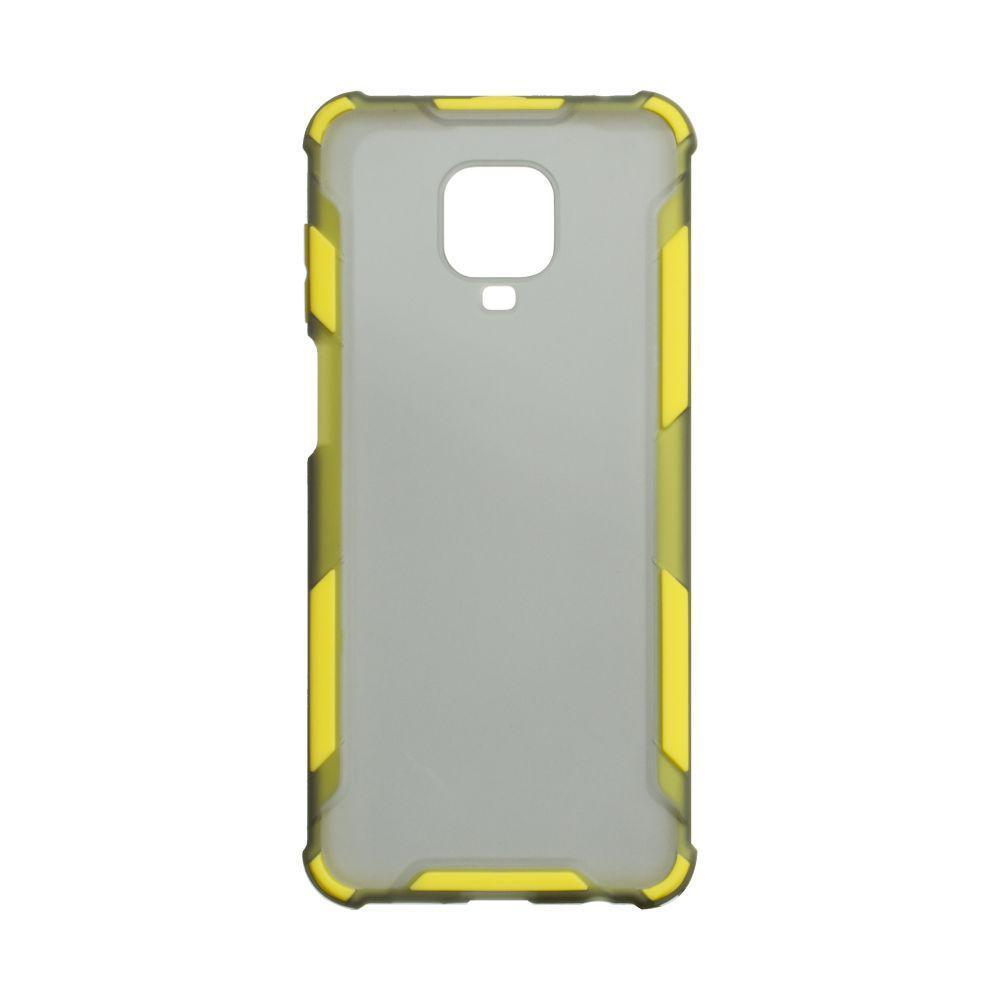 Чохол Armor Case Color для Xiaomi Redmi Note 9 Pro Жовтий