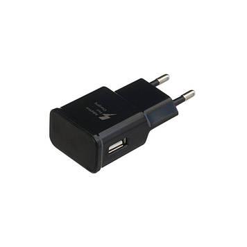 Зарядное устройство Wuw EP-TA20EWE Samsung S8 с кабелем Type C Чёрный