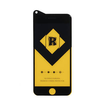 Захисне скло Film Ceramic Yellow для Apple Iphone 8, Iphone 7 Чорний