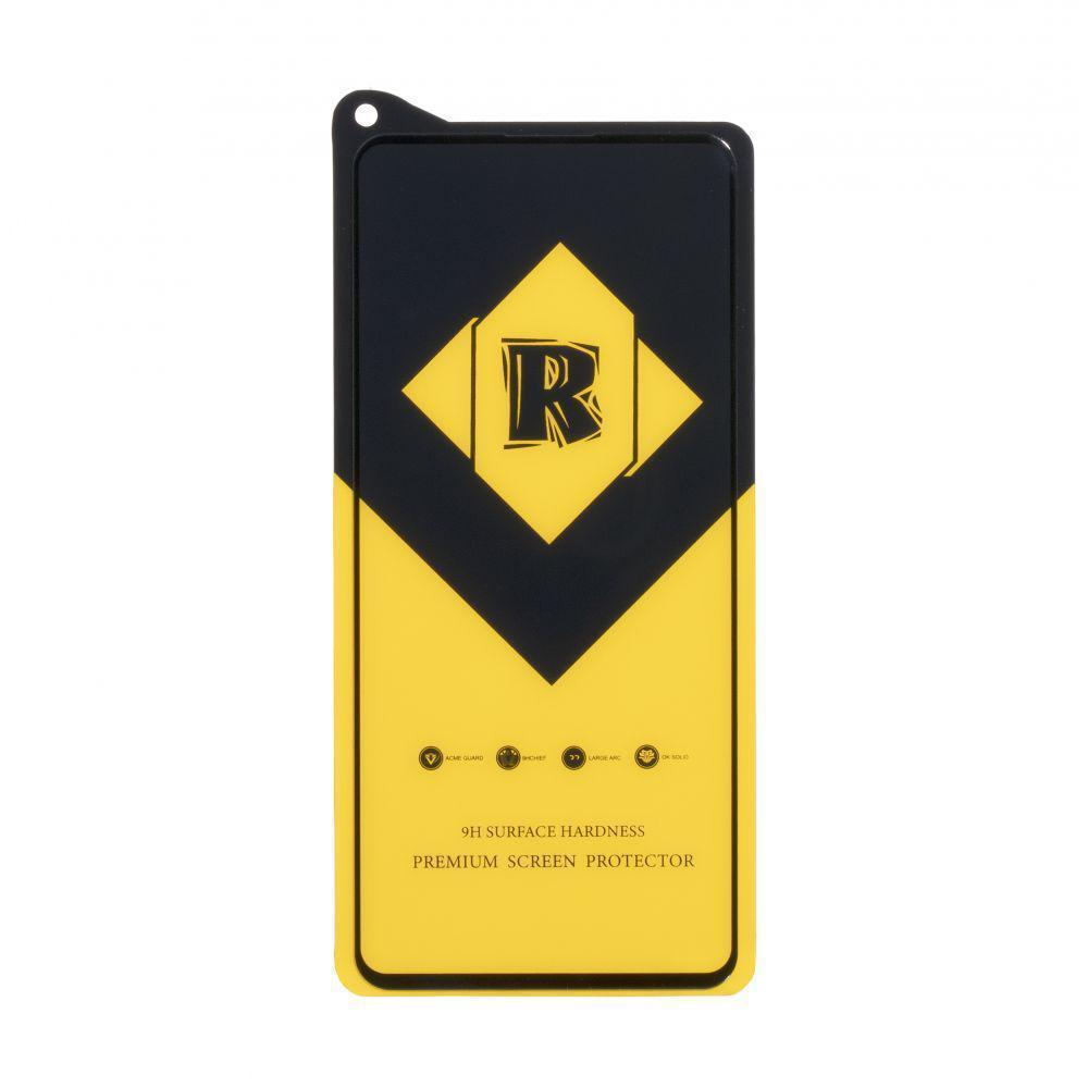 Защитное стекло Film Ceramic Yellow для Xiaomi Redmi Note 9s, Note 9 Pro Чёрный
