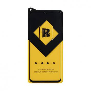 Защитное стекло Film Ceramic Yellow для Realme 5, Realme 6i Чёрный