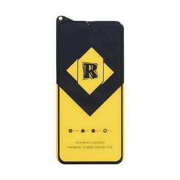 Защитное стекло Film Ceramic Yellow для Samsung M31, A30, A30s, A50, M30, M21 Чёрный