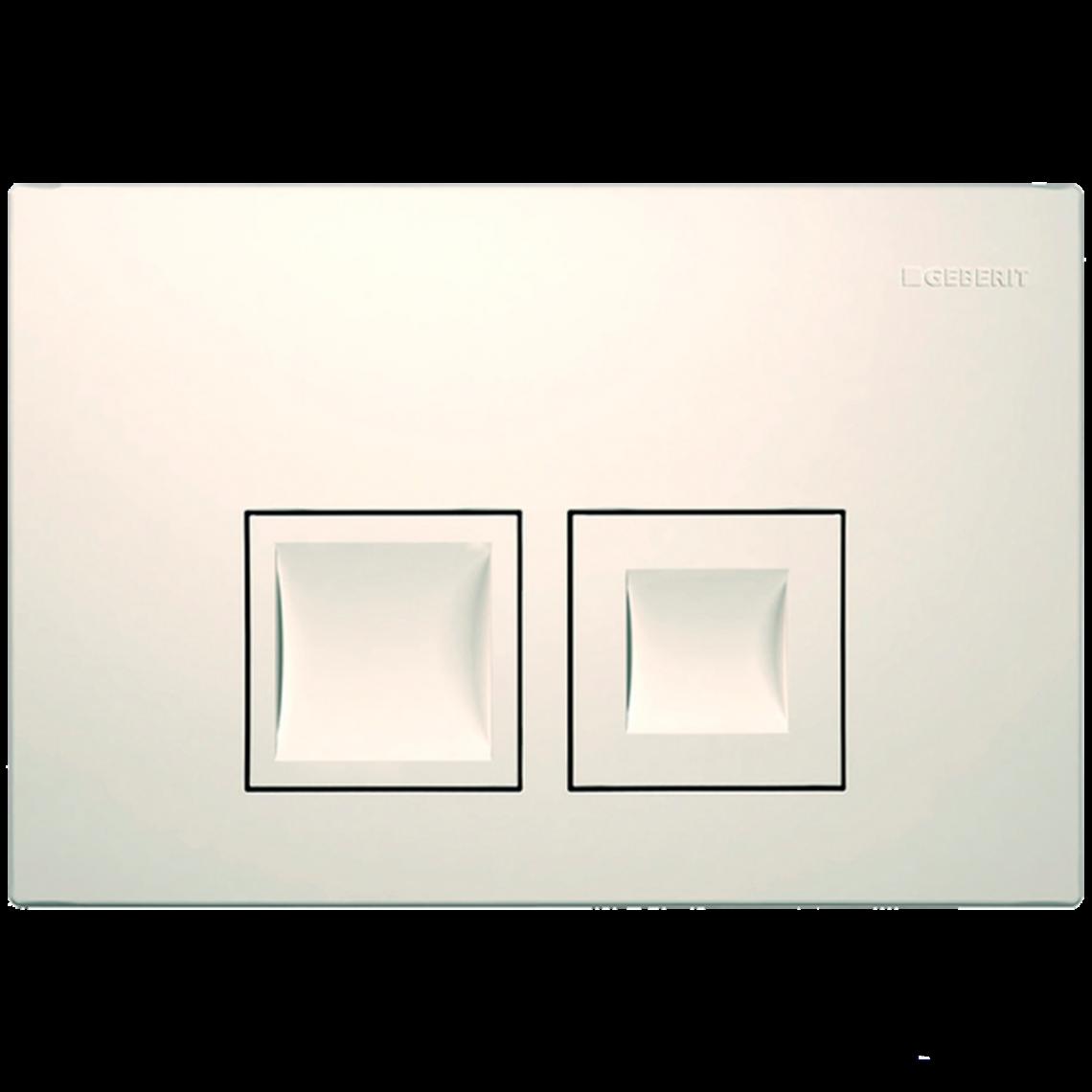 Клавіша змиву Geberit Delta50, білий (115.135.11.1)