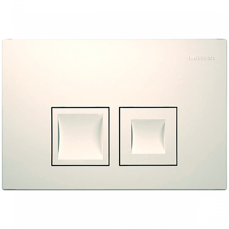 Клавіша змиву Geberit Delta50, білий (115.135.11.1), фото 2