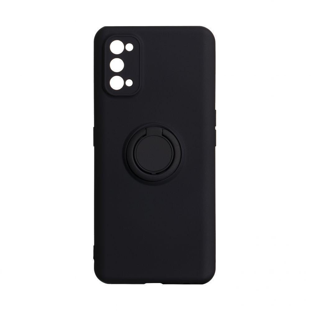 Чохол Totu Ring Color для Realme 7 Pro Чорний