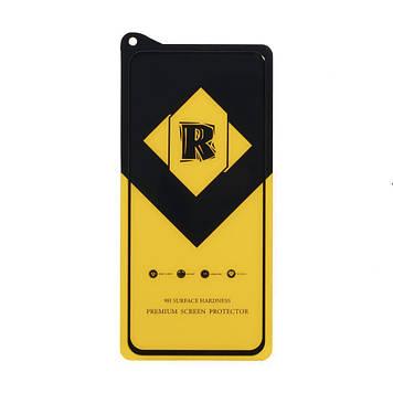 Защитное стекло Film Ceramic Yellow для Xiaomi Redmi Note 9 Чёрный