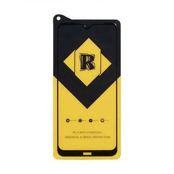 Защитное стекло Film Ceramic Yellow для Xiaomi Redmi Note 8T Чёрный