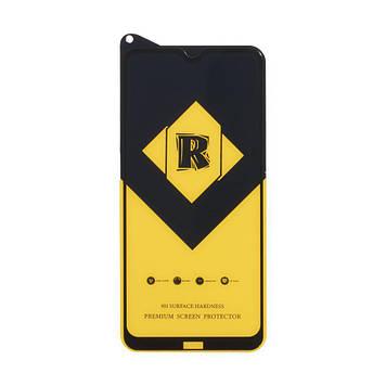 Защитное стекло Film Ceramic Yellow для Xiaomi Redmi 8, Redmi 8a Чёрный