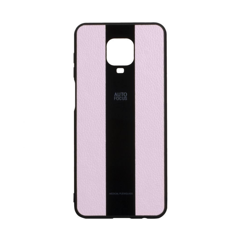 Чехол Totu Combi Leather для Xiaomi Redmi Note 9 Pro Розовый