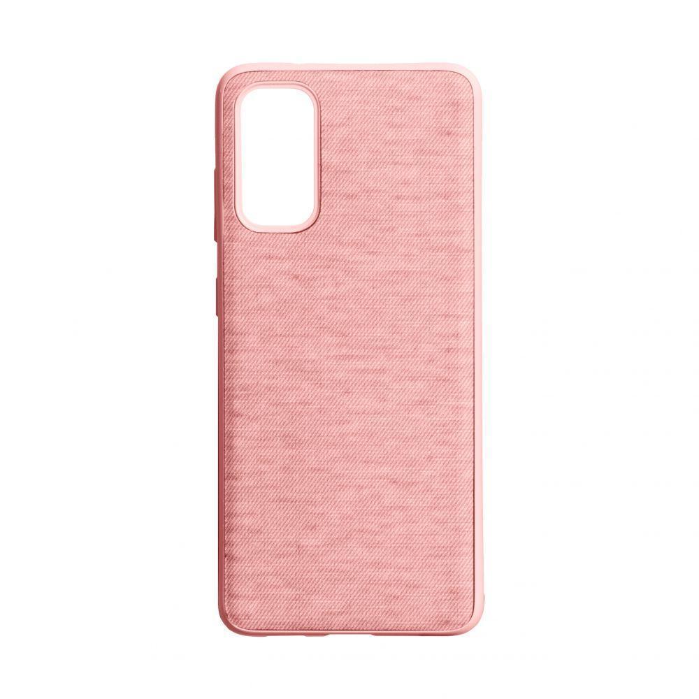 Чехол Totu Jeans для Samsung S20 SM-G980 Цвет Розовый