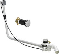 Сифон Multiplex Trio F подача води через нижній вузол зливу, 1070мм VIEGA (675479)