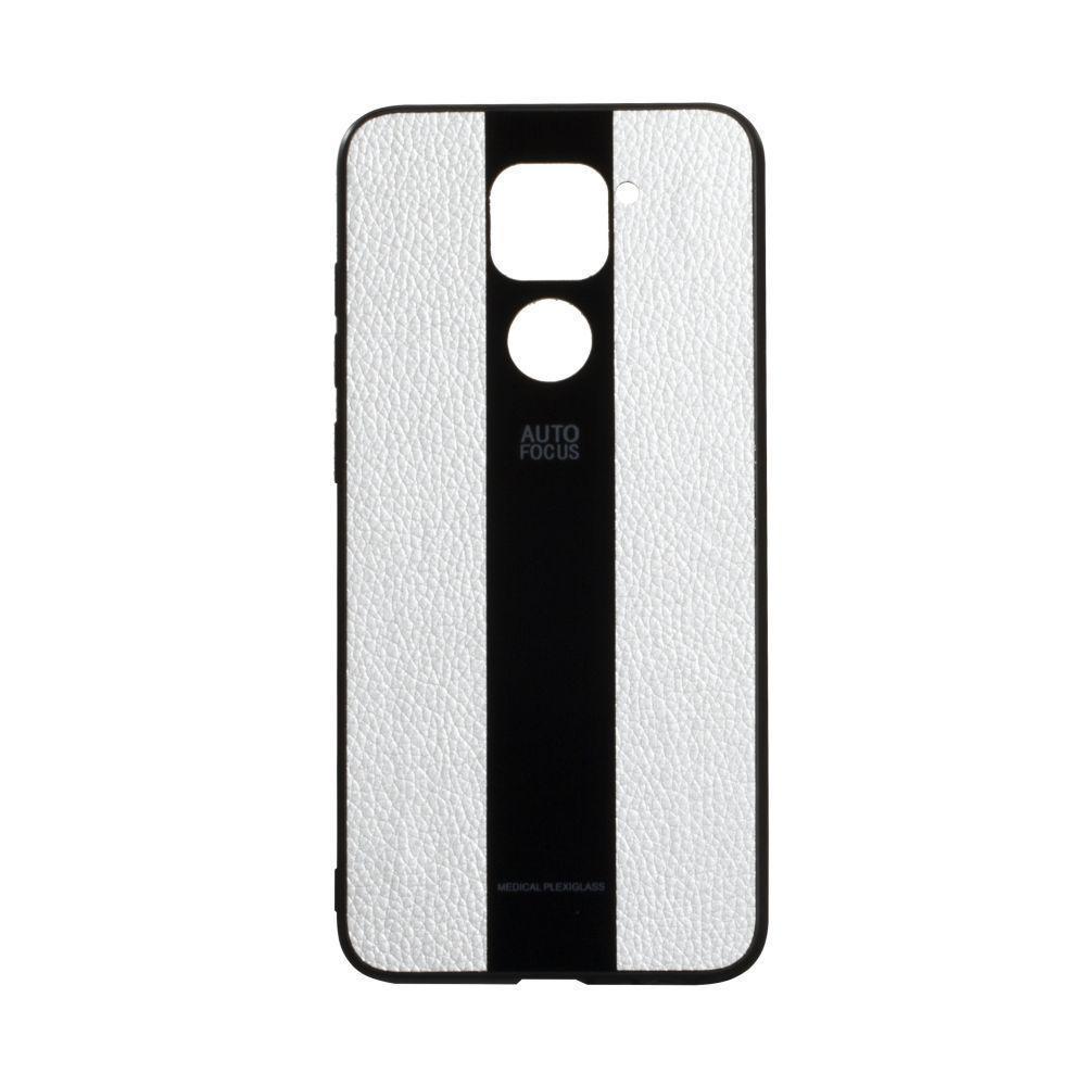 Чехол Totu Combi Leather для Xiaomi Redmi Note 9 Белый