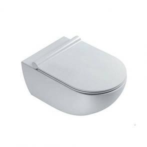 Кришка-сидіння Catalano Sfera Soft-Close Plus, білий сатинований (5SCSTPBM), фото 2
