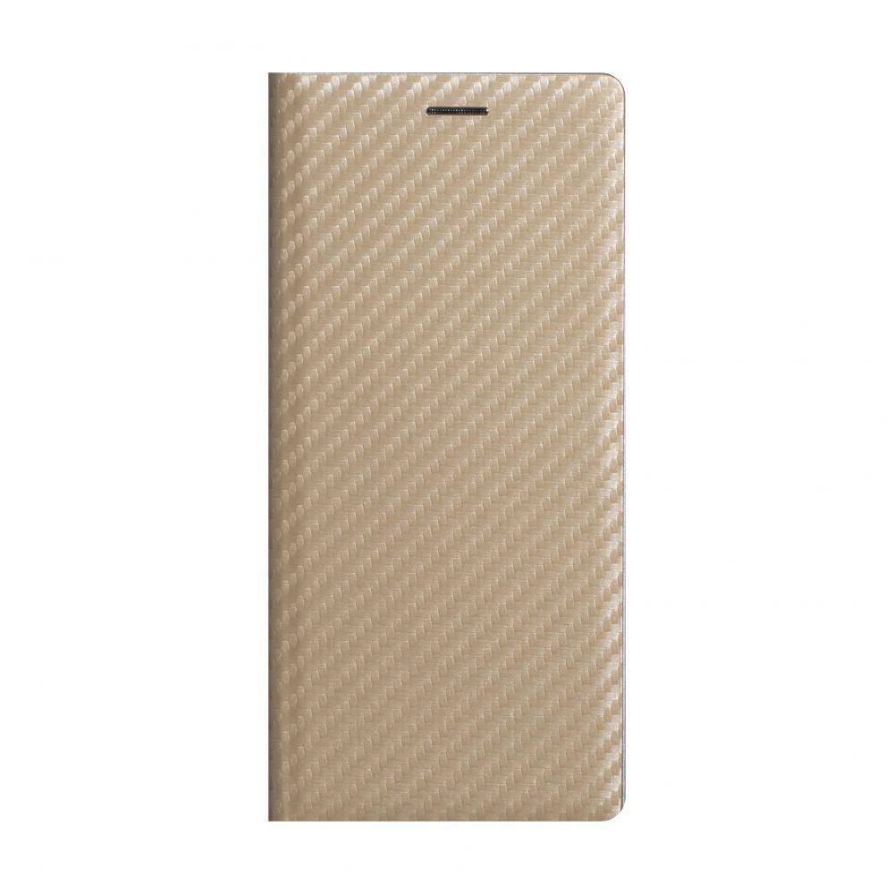 Чохол-книжка Anchor Carbon для Huawei P40 Lite Золотий