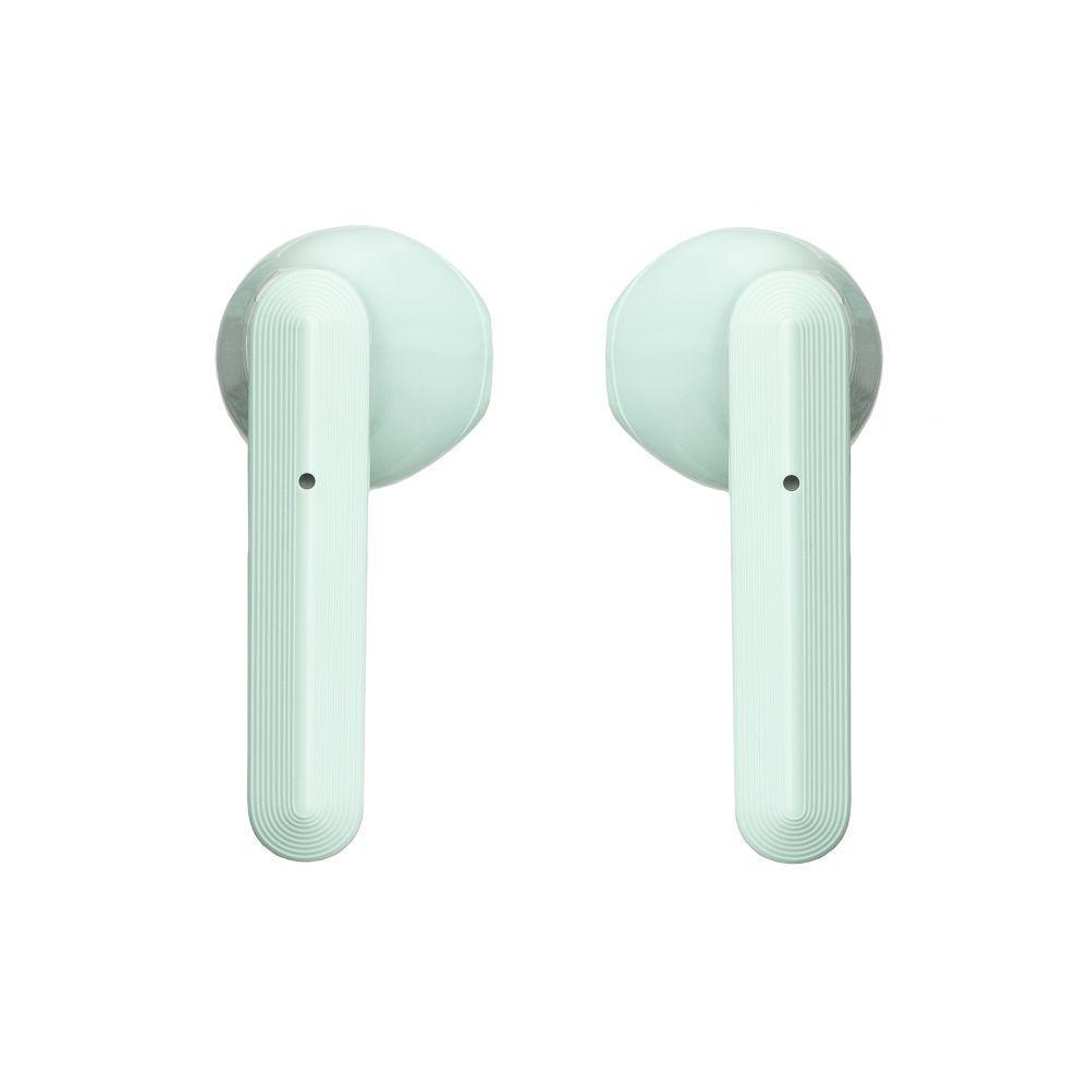 Бездротова гарнітура Baseus Encok NGW09 TWS Bluetooth стерео навушники Бірюзові