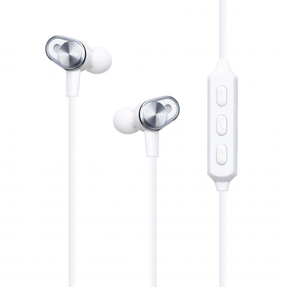 Бездротова гарнітура Yison E2 Bluetooth стерео навушники Білі