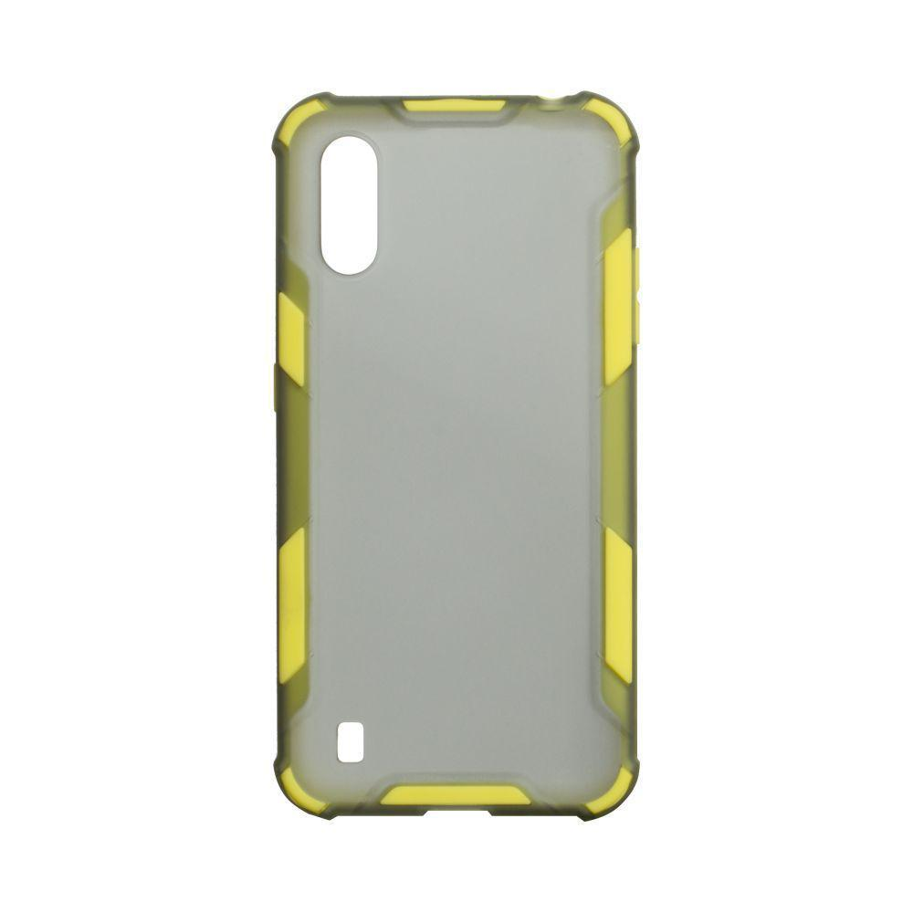 Чехол Armor Case Color для Samsung Galaxy A01 SM-A015 Желтый