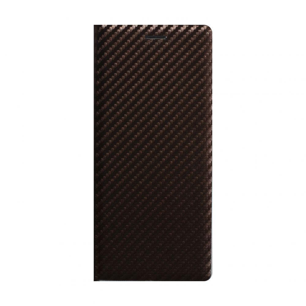 Чехол-книжка Anchor Carbon для Huawei Y5P Eur Ver Коричневый