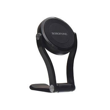 Автомобильный держатель Borofone BH26 магнитная фиксация телефона Чёрный