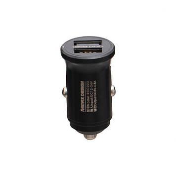 Автомобильное зарядное Remax RCC 222 4.8A 2 USB Fast Charge Черный