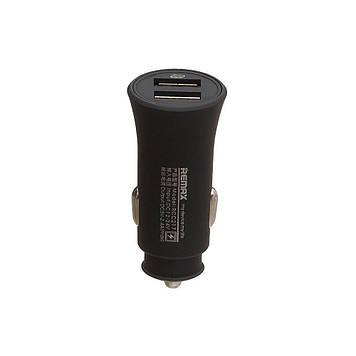 Автомобильное зарядное Remax RCC 217 2.4A 2 USB Fast Charger Чёрный