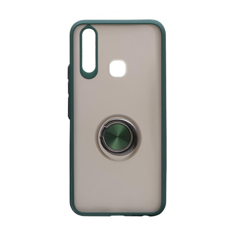 Чехол Totu с магнитным кольцом для Vivo Y11 Зелёный