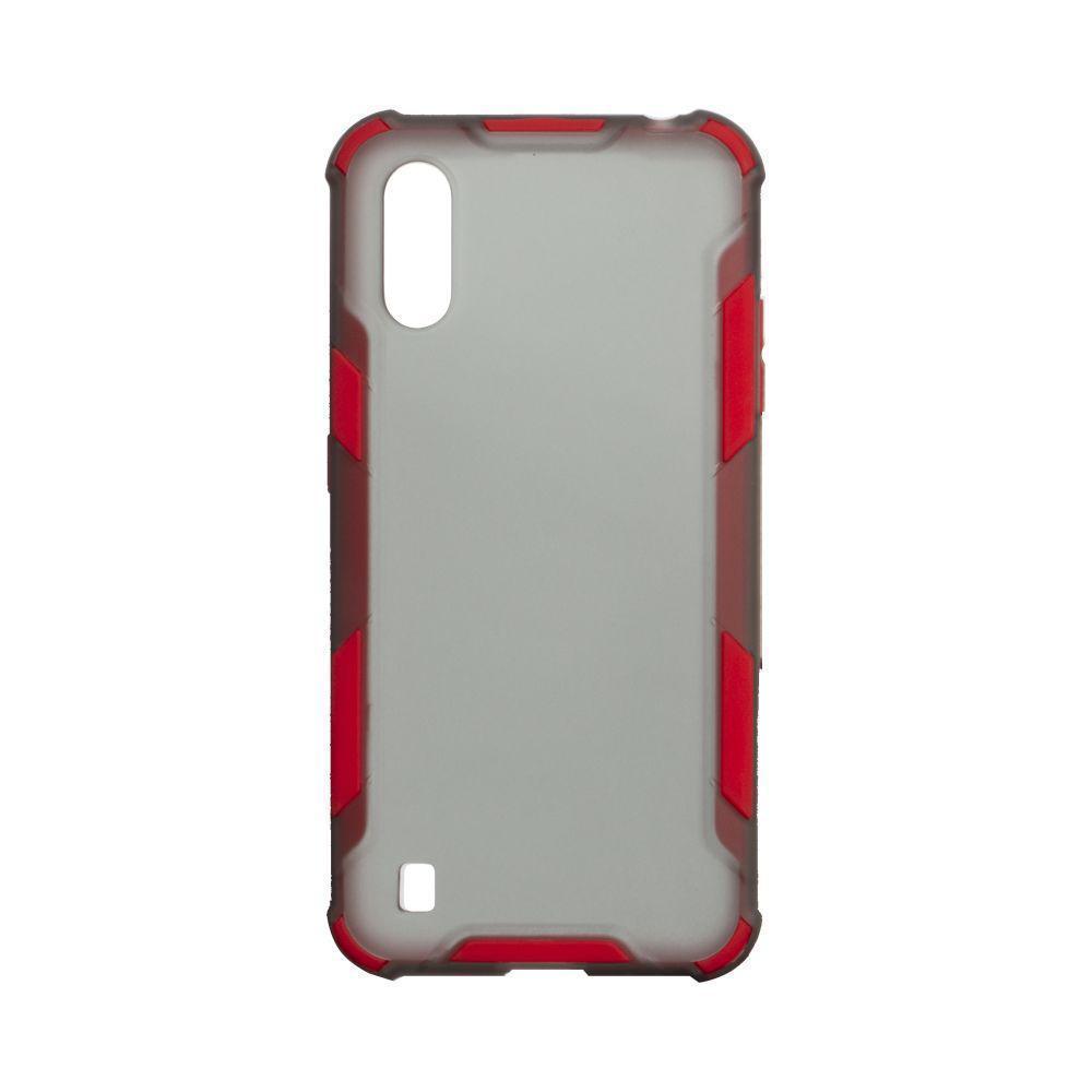 Чехол Armor Case Color для Samsung Galaxy A01 SM-A015 Красный