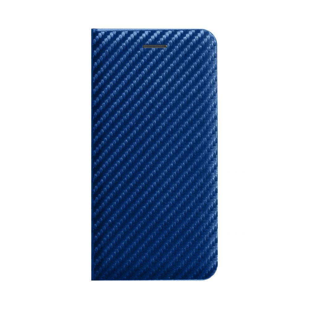Чехол-книжка Anchor Carbon для Xiaomi Redmi Note 9 Синий