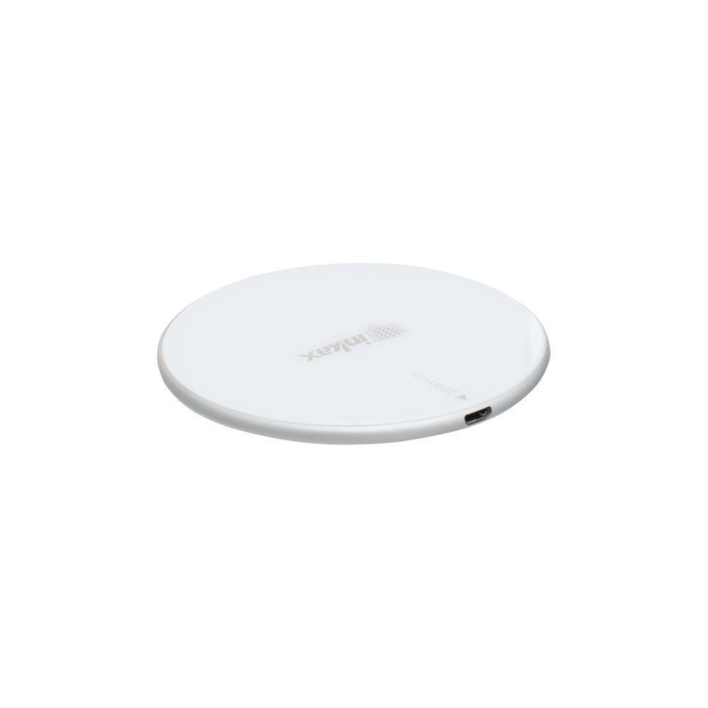 Беспроводная зарядка Inkax FW-02 2A с кабелем Micro USB Белым