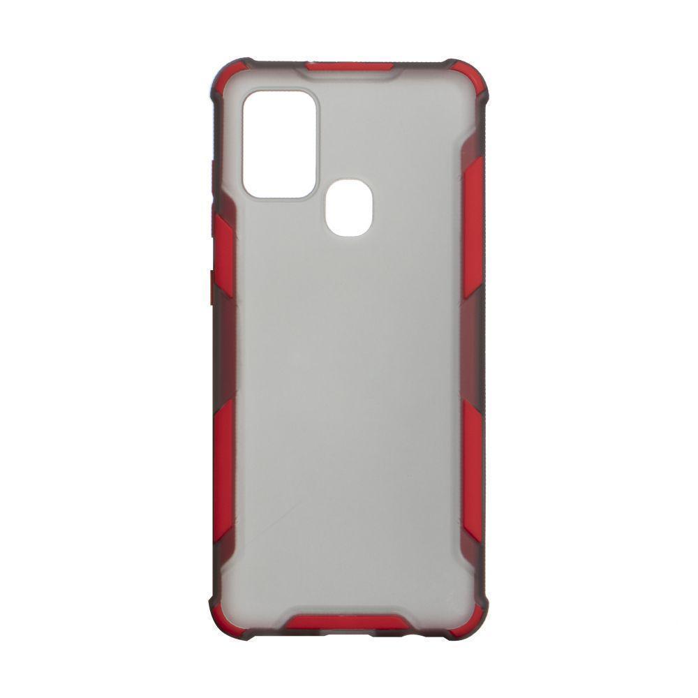 Чохол Armor Case Color для Samsung Galaxy A21s SM-A217 Червоний