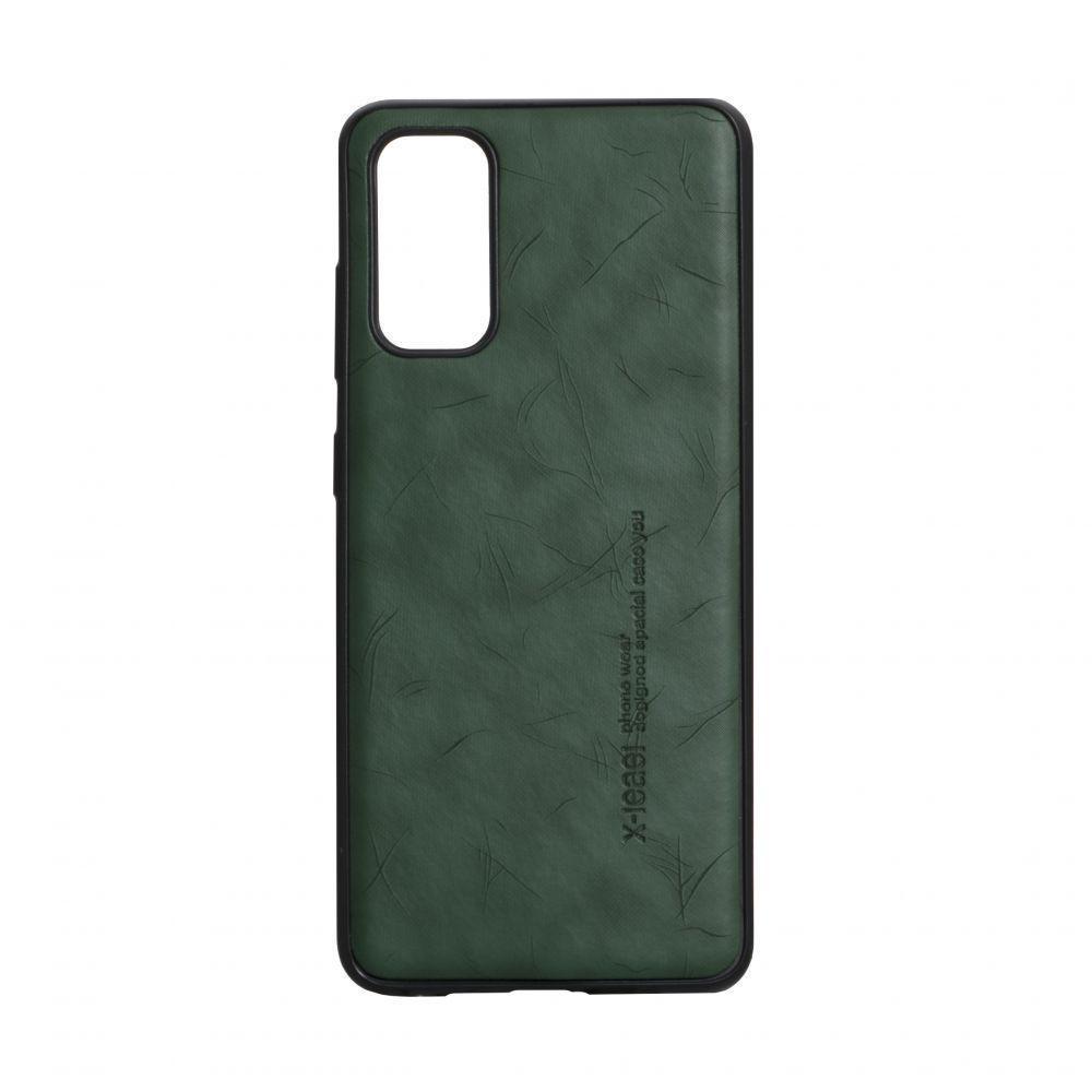 Чехол Anchor Leael Color для Samsung Galaxy S20 SM-G980 Зеленый