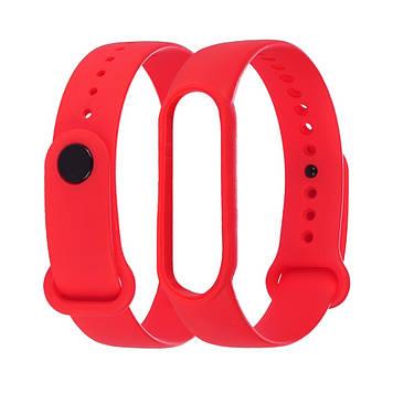 Ремешок силиконовый Anchor для Xiaomi Mi Band 5/ 6 Красный