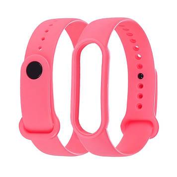 Силіконовий ремінець Anchor для Xiaomi Mi Band 4/ Band 3 Рожевий