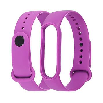 Ремешок силиконовый Anchor для Xiaomi Mi Band 4/ Band 3 Фиолетовый