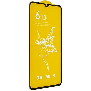 Защитное стекло Mirror 6D Glass 9H для Xiaomi Mi 9 Чёрный