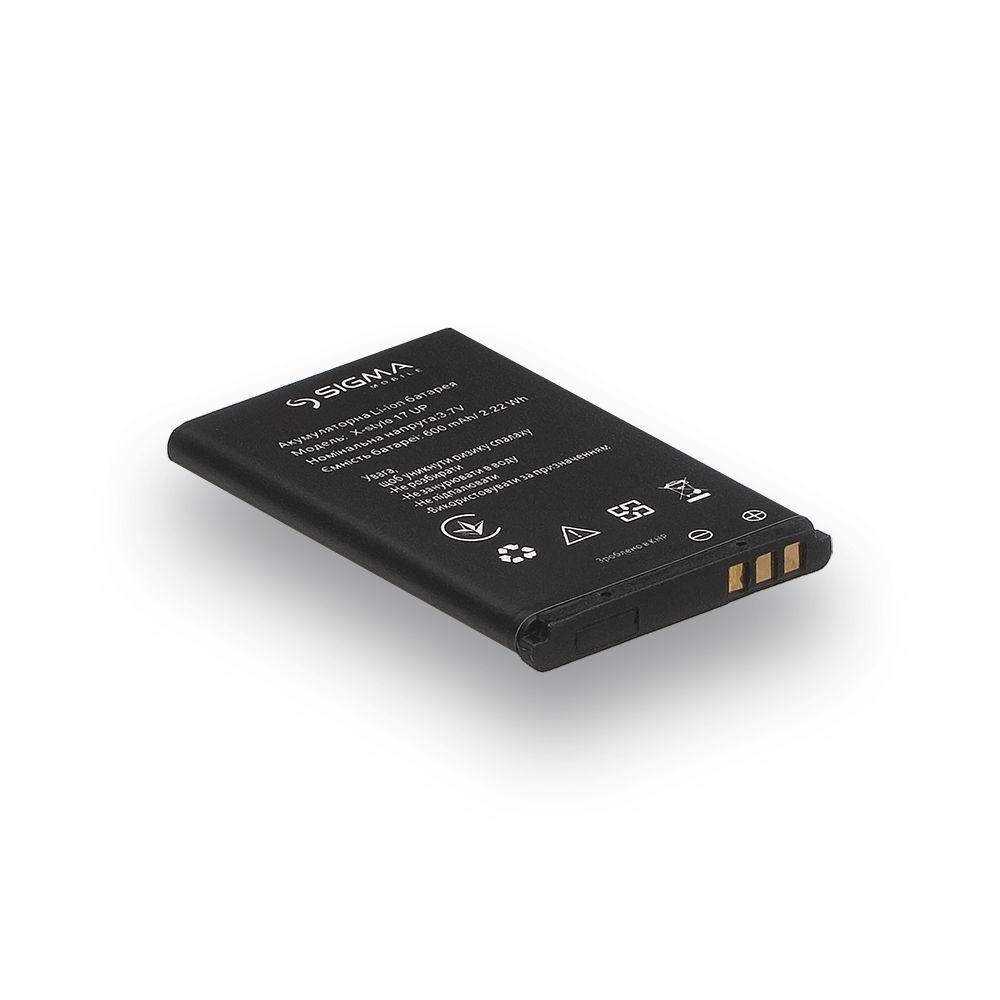 Акумуляторна батарея Quality для Sigma X-Style 17 Up