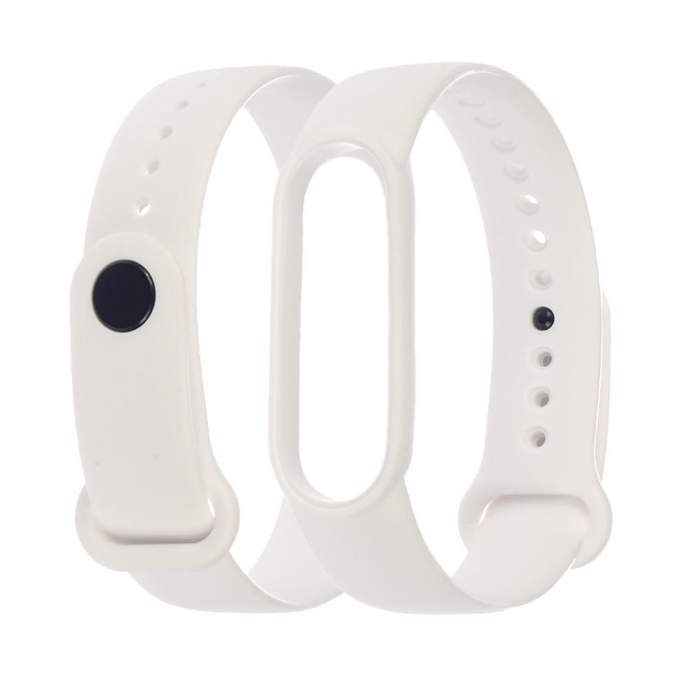 Ремешок силиконовый Anchor для Xiaomi Mi Band 4/ Band 3 Белый