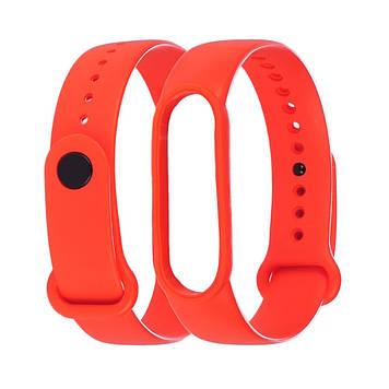 Ремешок силиконовый Anchor для Xiaomi Mi Band 4/ Band 3 Оранжевый