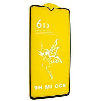 Защитное стекло Mirror 6D Glass 9H для Xiaomi Mi 9 Lite Чёрный