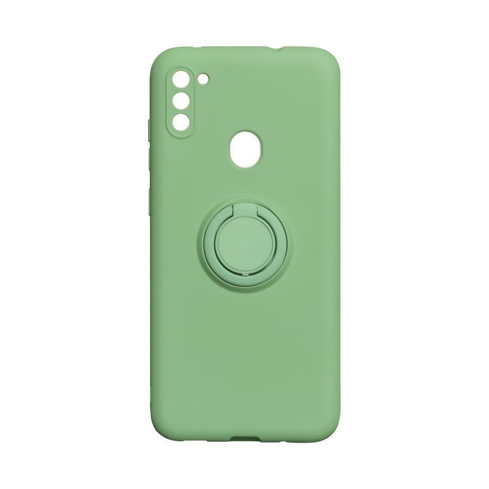 Чохол Totu Ring Color для Samsung Galaxy M11 SM-M115 Зелений