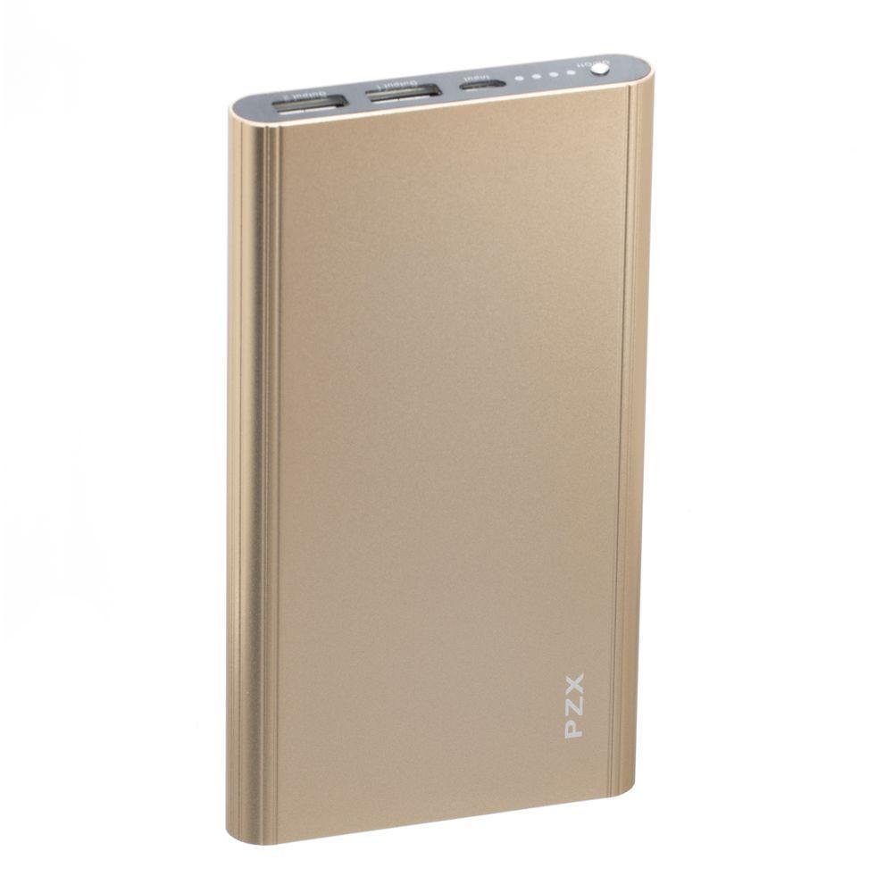 Портативная батарея Power Bank PZX C158 LED индикатор 20000 mAh Золотой