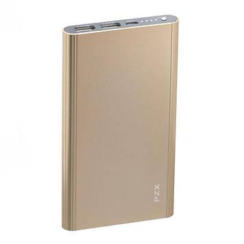 Портативна батарея Power Bank PZX C158 LED індикатор 20000 mAh Золотий