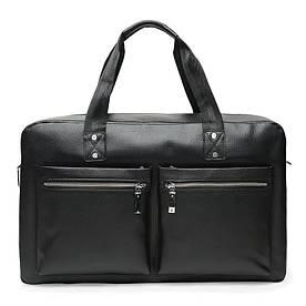 Чоловіча шкіряна сумка Ricco Grande K16274-black