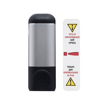 Портативная батарея Power Bank Wuw N31 беспроводная зарядка Airpods Чёрно-Серый